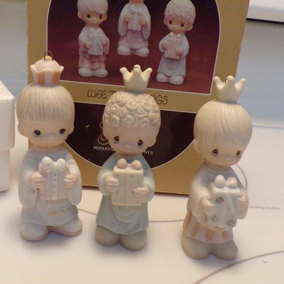 Precious Moments -Wee Three Kings Ornaments